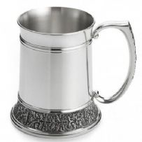 Royal Selangor cast Classic Expression Tankard, Royal Finish (L)
